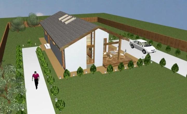 case mici moderne cu un singur nivel Small modern single level houses 3