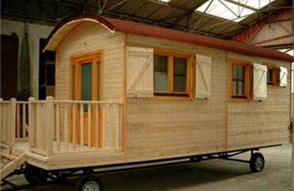 case mobile din lemn Wooden mobile homes 3