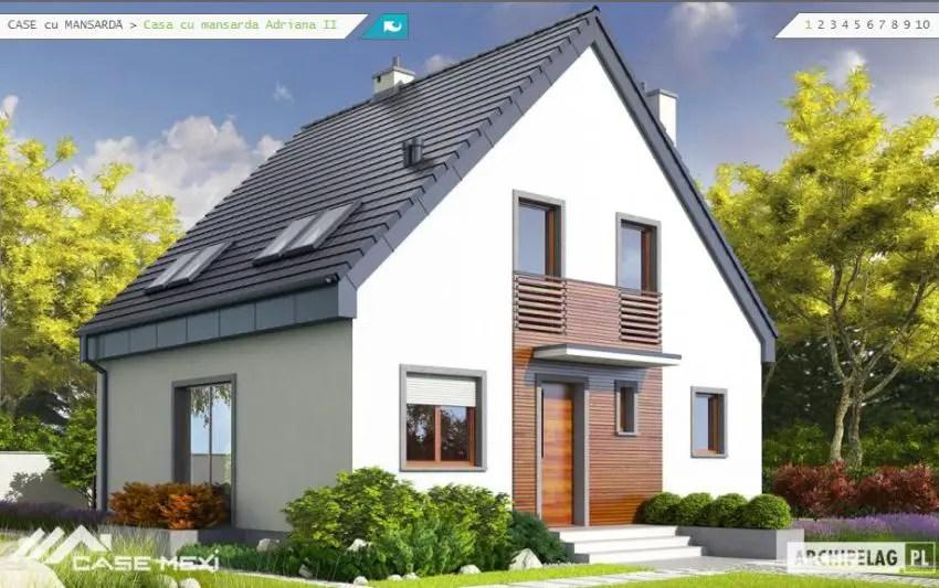 Case pe structura usoara pentru un stil de viata dinamic for Imagini case moderne