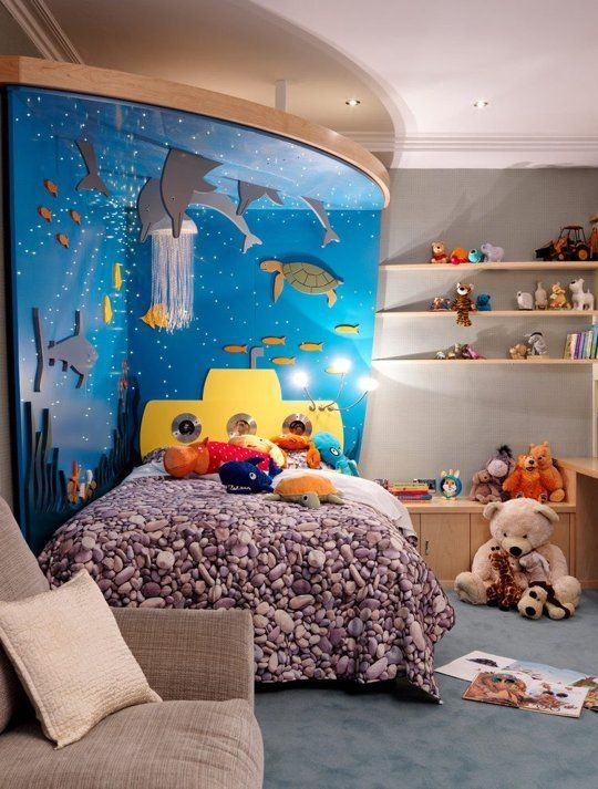 decoratiuni pentru camera copilului Kid's room decorating ideas 13