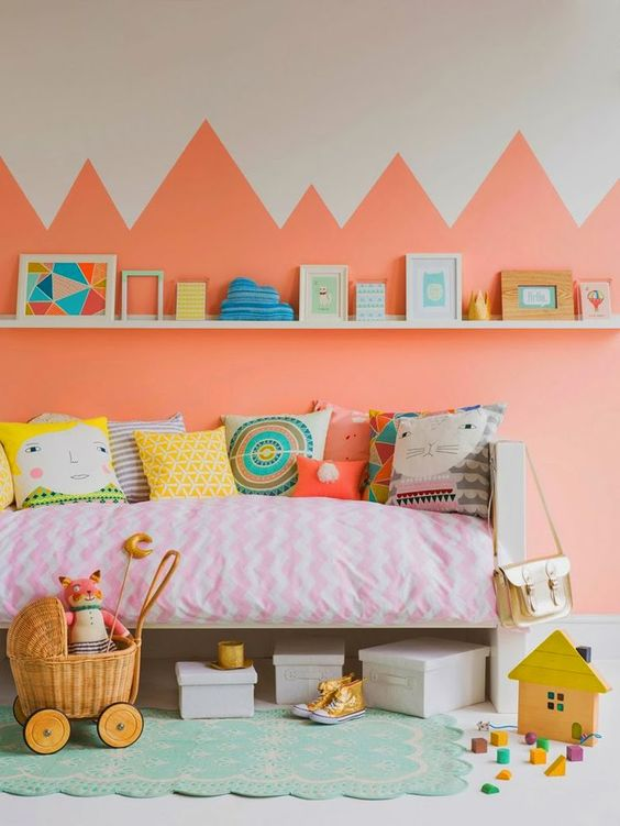 decoratiuni pentru camera copilului Kid's room decorating ideas 15