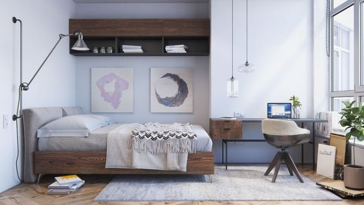 dormitoare scandinave Scandinavian bedrooms 3