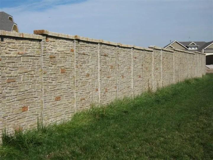 garduri placate cu piatra decorativa decorative stone fence ideas 10