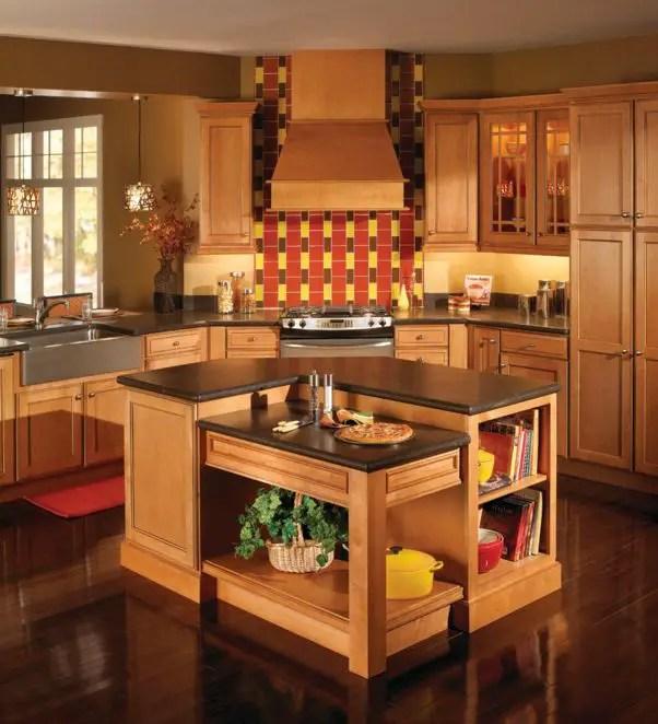 mobila de bucatarie din lemn masiv Solid wood kitchen cabinets 2