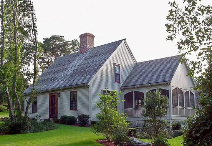 Modele de case cu terase inchise - spatii exterioare bine delimitate