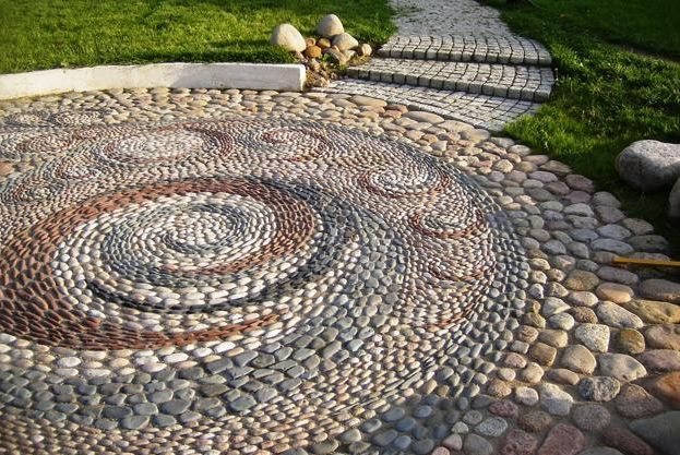pietre decorative pentru gradina Decorative stone garden landscaping ideas 2