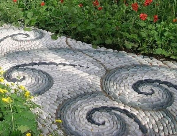 decorative stone garden landscaping