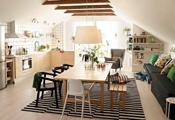 sufragerii in stil scandinav Scandinavian style dining rooms 1