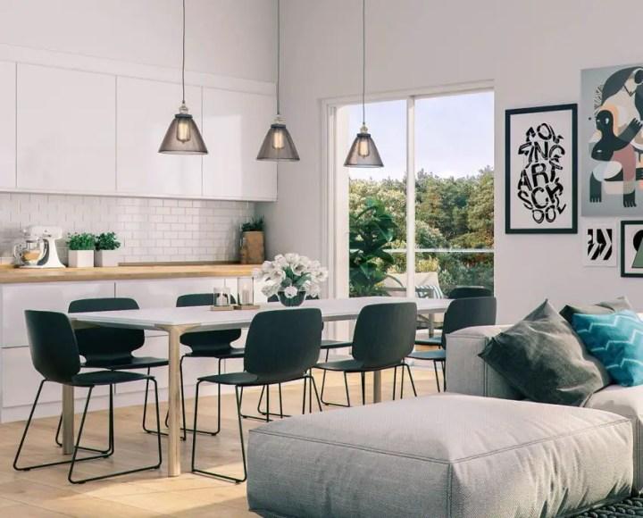 sufragerii in stil scandinav Scandinavian style dining rooms 4