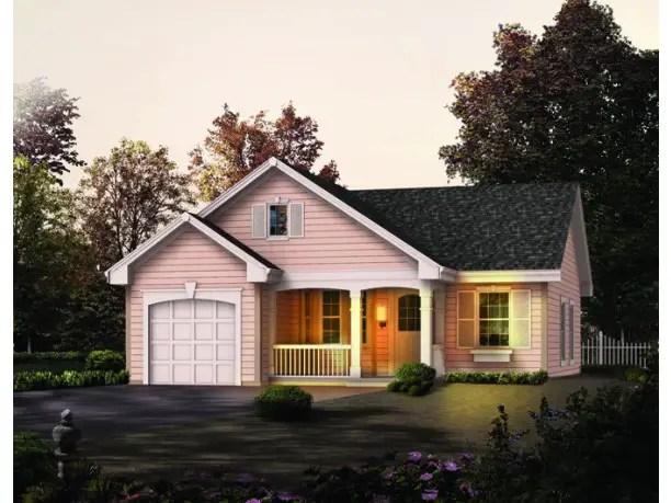 Idei de case simple cu 2 dormitoare