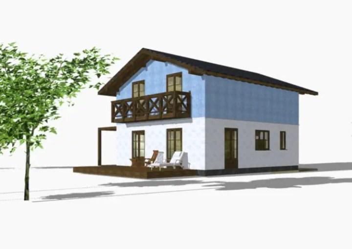 case din panouri din lemn wood panel house plans 13