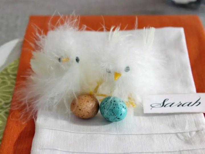 decoratiuni pentru masa de Paste Table Easter decorations 11
