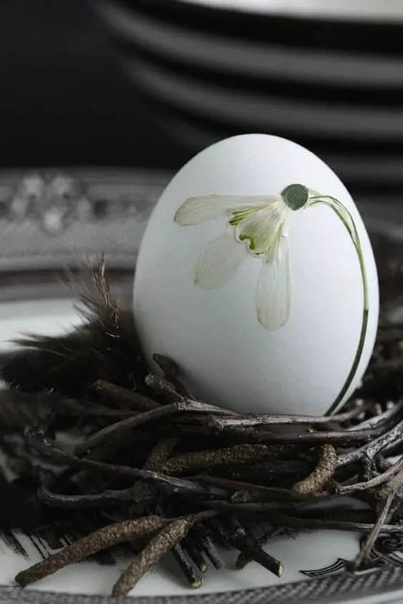 decoratiuni pentru masa de Paste Table Easter decorations 3