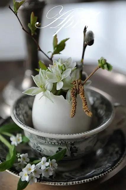 decoratiuni pentru masa de Paste Table Easter decorations 5