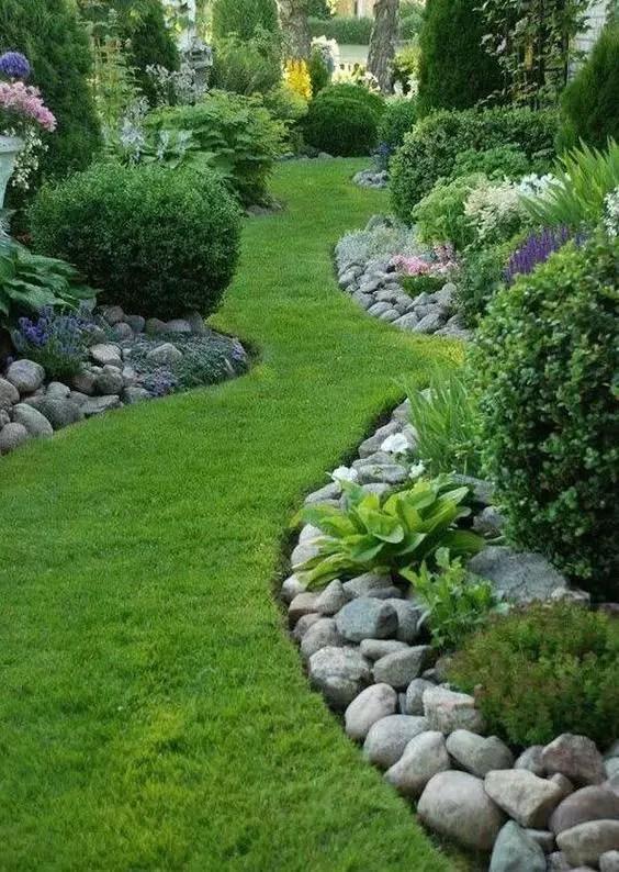 idei de amenajare a gradinii cu flori flower garden landscape ideas 12