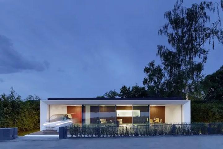 Casa care se construieste in 24 ore - locuinta autonoma energetic