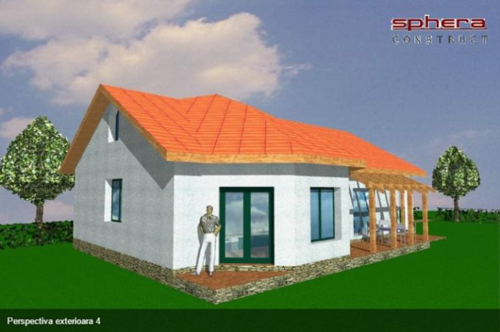 case cu parter si 3 dormitoare three bedroom house plans 3