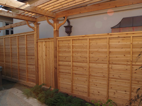 garduri decorative din lemn decorative wooden fences 15