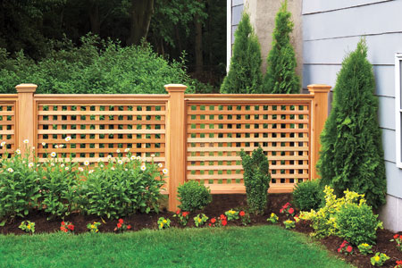 garduri decorative din lemn decorative wooden fences 8