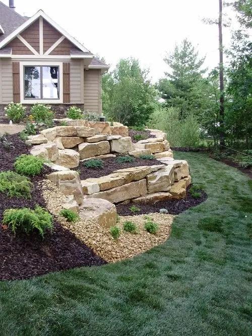 gradini amenajate ca la munte Mountain garden landscaping ideas 5