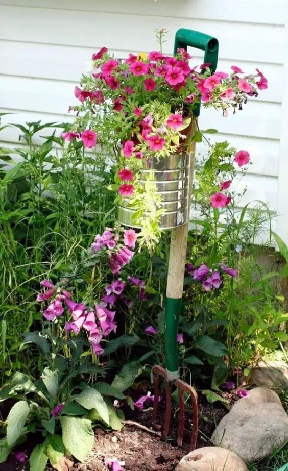 gradini rustice cu flori Rustic flower gardens 9