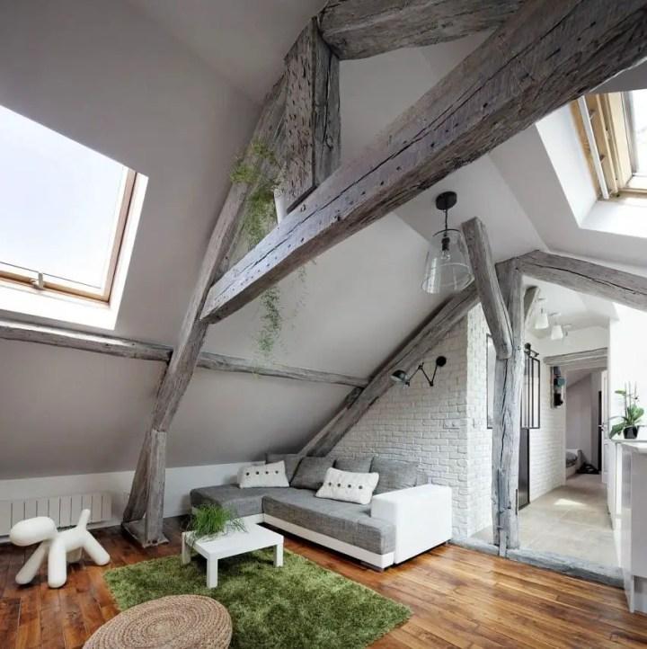 mansarda rustica the rustic attic 3