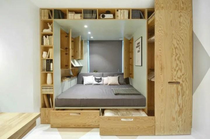 paturi inteligente pentru dormitoare mici Smart beds for small rooms 4