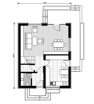 proiecte de case cu etaj mansardat attic house plans 2