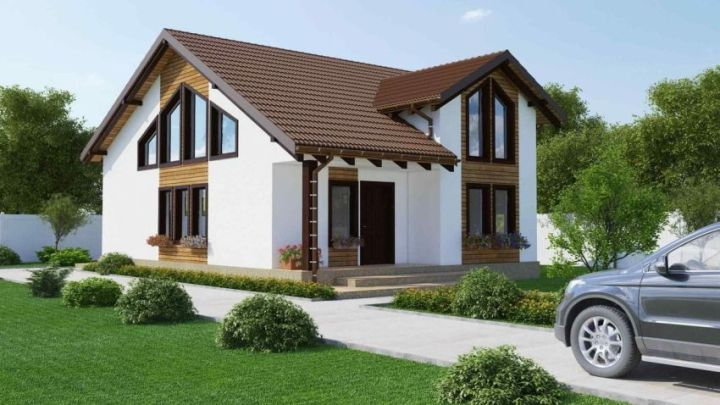 proiecte de case cu etaj mansardat attic house plans 7