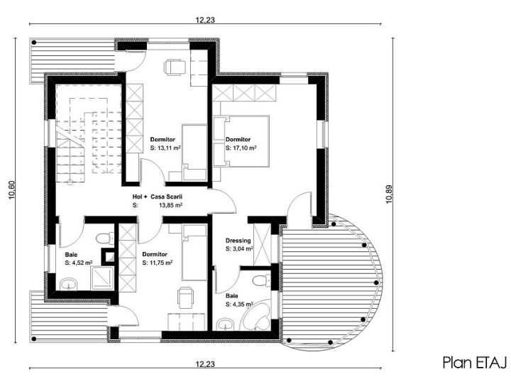 proiecte de case cu un etaj two story house plans 13