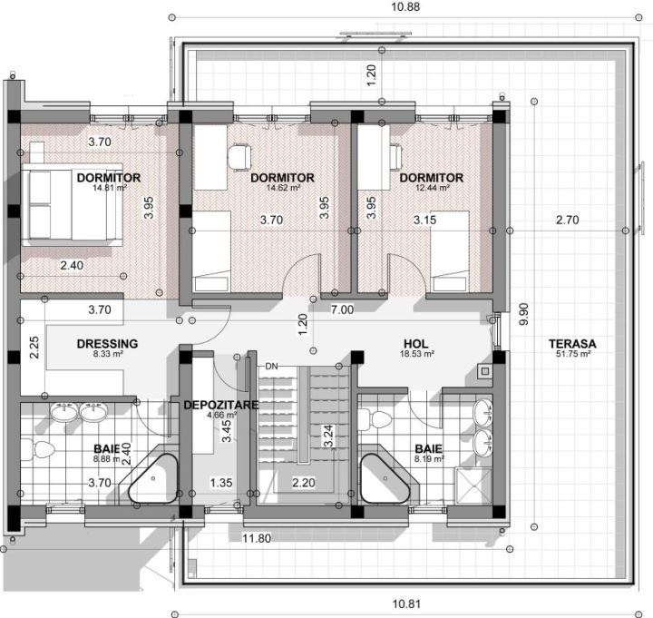 proiecte de case cu un etaj two story house plans 8