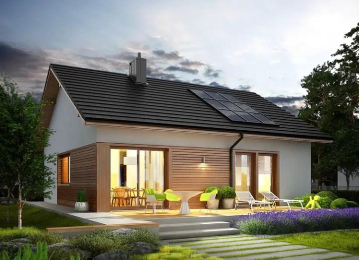 proiecte de case fara etaj cu 2 dormitoare Two bedroom single story house plans 10