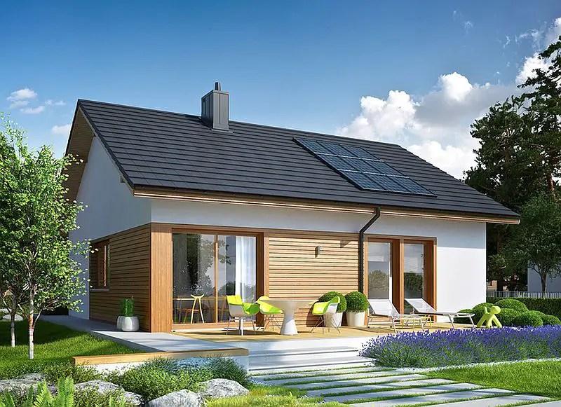 3 proiecte de case fara etaj cu 2 dormitoare case practice for Case de vis mici