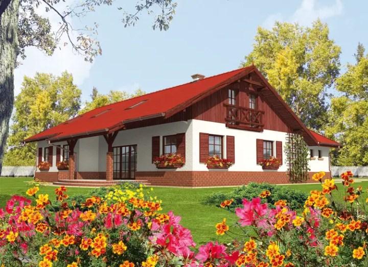 proiecte de case mici pe un singur nivel Small single level house plans 9