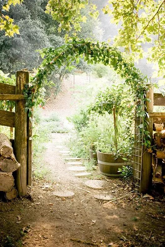 arcade de gradina din lemn garden wood arches 12