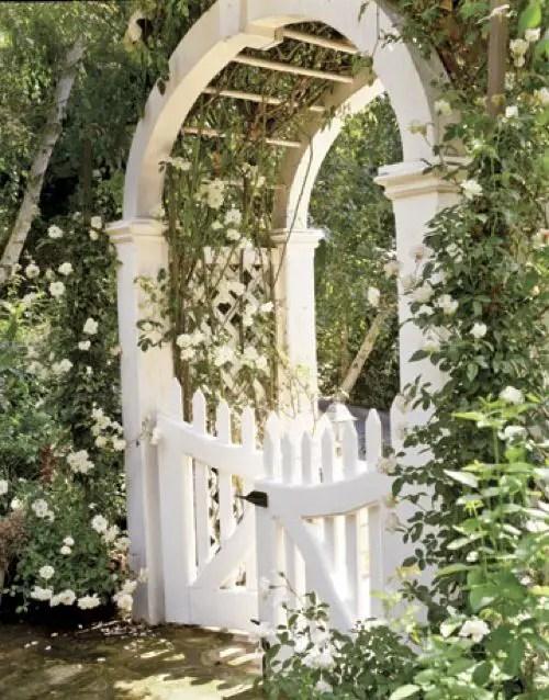arcade de gradina din lemn garden wood arches 14