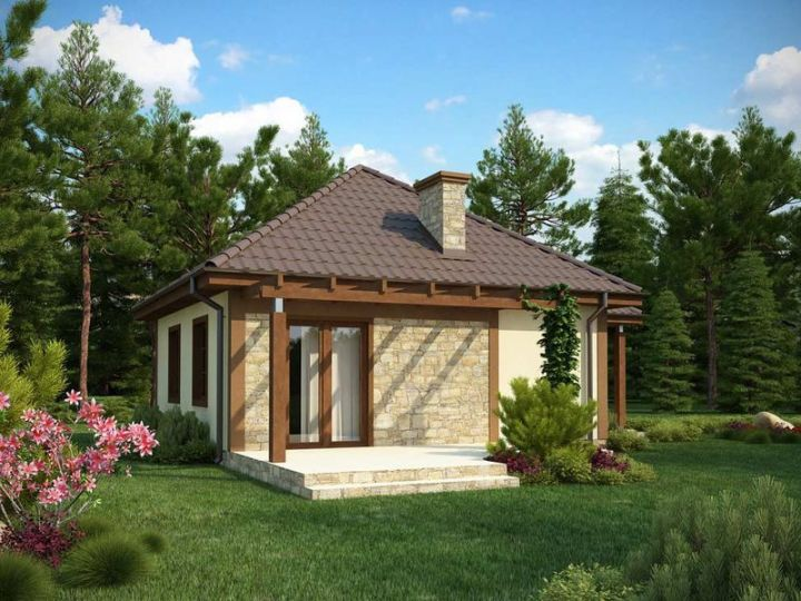 case cu doua camere two room house plans 2