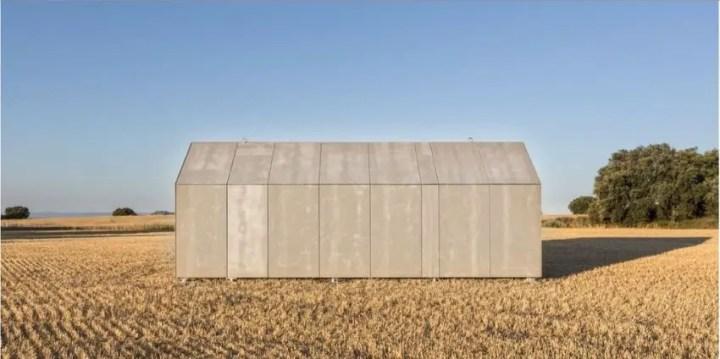 case din placi de beton Precast concrete houses 2