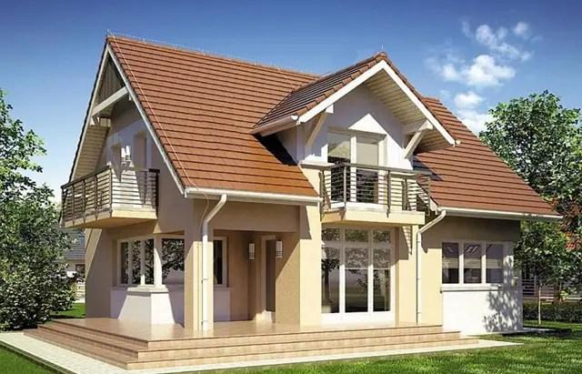 Case medii cu mansarda trei proiecte spatioase case Medium sized home plans