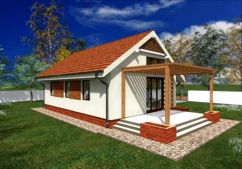 Case mici de 60 de mp trei proiecte generoase case for Small house design 60 square meter
