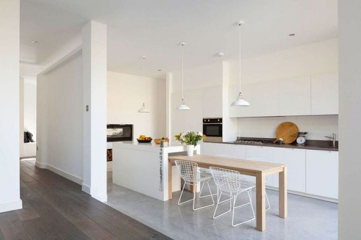 casuta din curte minimalist London home extension 3