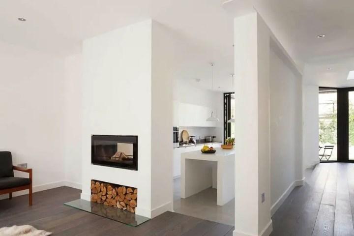 casuta din curte minimalist London home extension 5