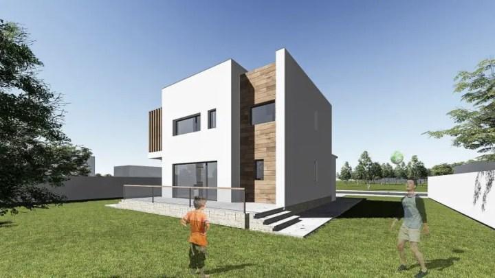 proiecte de case cu etaj sub 150 de metri patrati Two story houses under 150 square meters 12