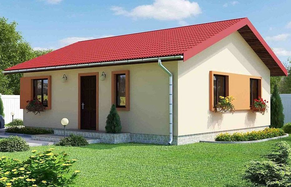 Proiecte de case de 60 70 mp strictul necesar case for 70 square meter modern house design