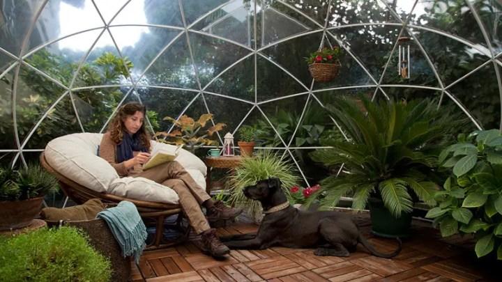 un iglu pentru gradina garden igloo 2