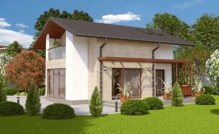 Case cu balcoane din sticla Houses with glass balconies 10