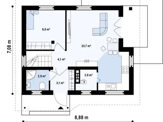 Case de vacanta cu mansarda Two story holiday homes 8