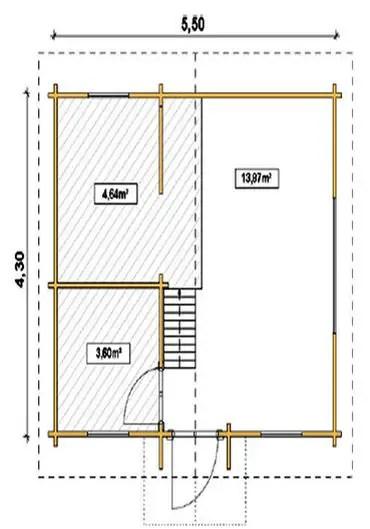 Case din grinzi chertate beam houses 8