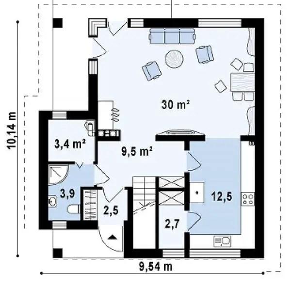 case cu balcoane din sticla Houses with glass balconies 3