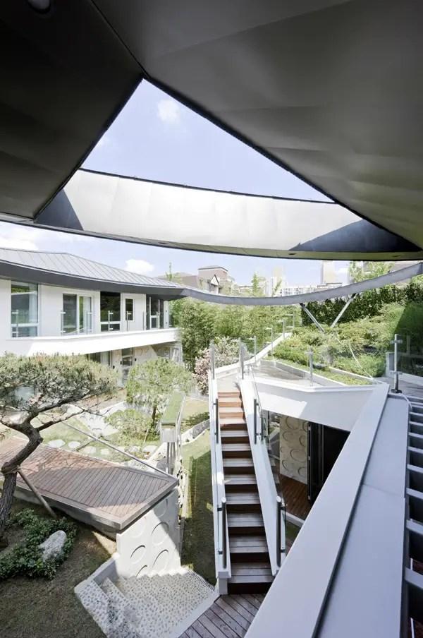 case cu gradina interioara Interior courtyard houses 15